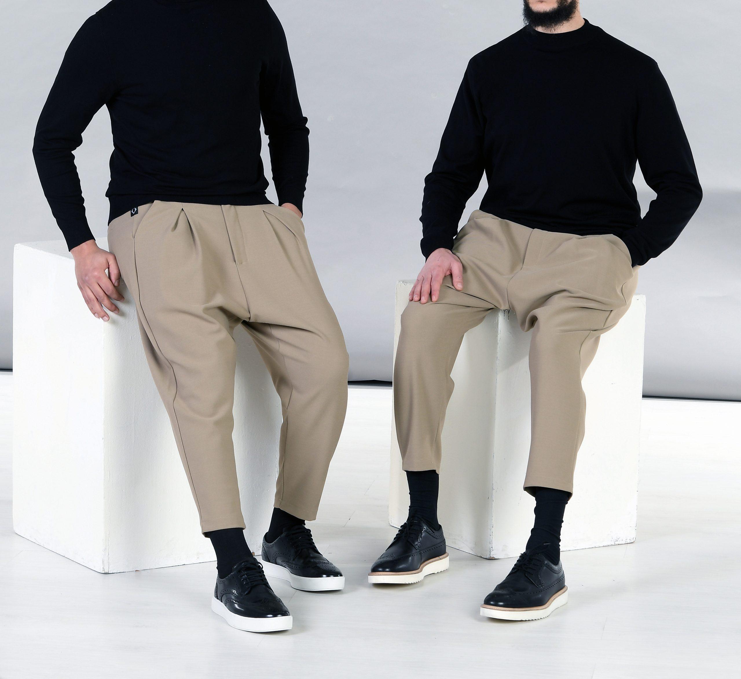 pantalon à pinces classe