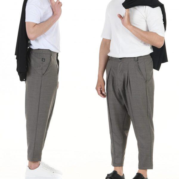 pantalon pince large